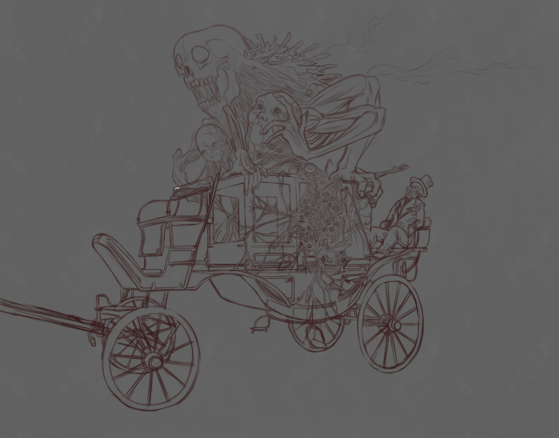 Runaway Carriage outline.png