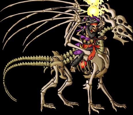 Skeleton Mage Rides Skeleton Dragon.png