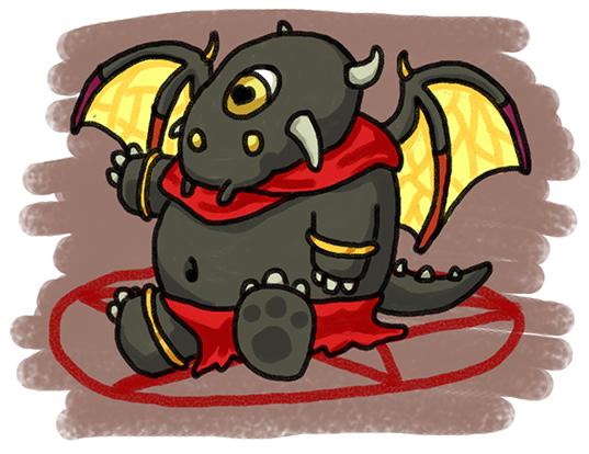 Baby Blight Demon - Fanart.png