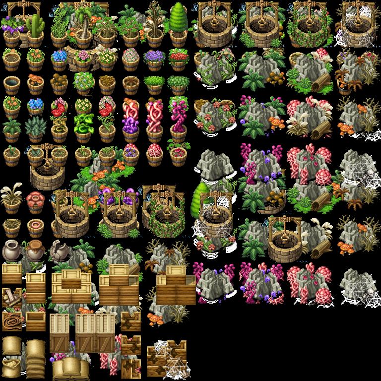 Plants Boxes n Rocks.png