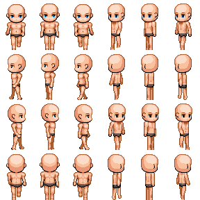 Character Sprite Sheet Generator