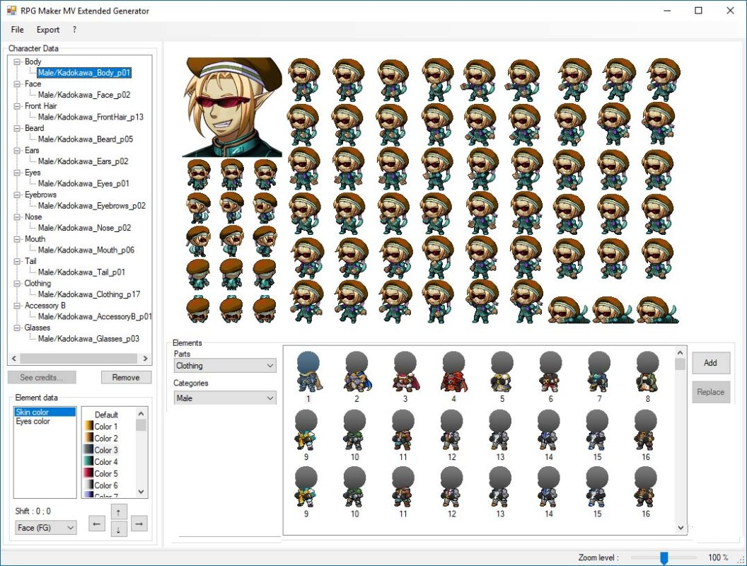RPG Maker MV Extended Generator - Version Alpha 0 09