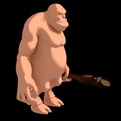 Ogre, Battler, Monster, 3D, Need downsize