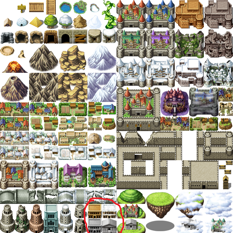Ruined world map temples request rpg maker forums if there isnt id like to request someone to make them in their destroyed versions i need them for my project i will give credit of course gumiabroncs Image collections