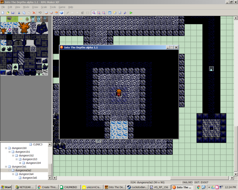 Game freezes completely when I try to use stairs  | RPG Maker Forums
