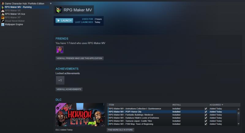Can't load POP Horror city assets | RPG Maker Forums