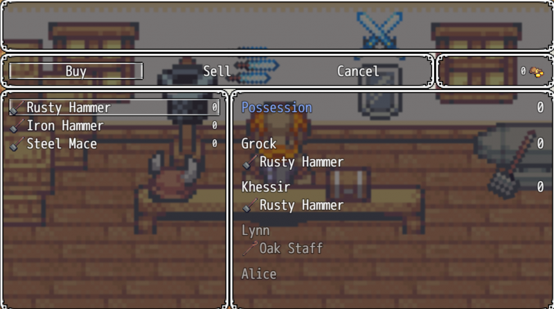 Is it possible to make a shop with a custom image? | RPG Maker Forums