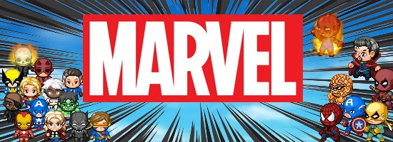Marvel: Characters Sets & SV Battlers (Avengers, Spider-Man